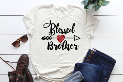 Blessed Brother SVG File, Soon To Be Gift, Vector SVG Design for Cutti