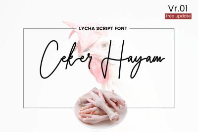 Lycha Font