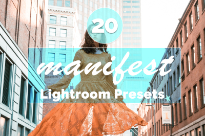 20 Manifest Lightroom Presets(90% Discount)