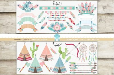 Tribal Clipart Bundle