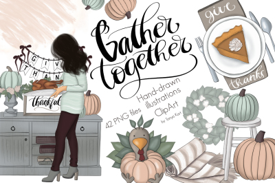 Gather Together Graphic Design Kit