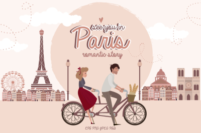 Paris. One romantic story