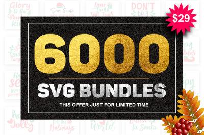 6000 SVG Big Bundles