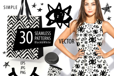 Black&White Patterns Collection