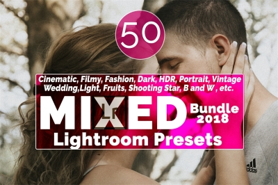 Mixed Bundle - 2018 Lightroom Presets