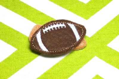 Football ITH Feltie | Applique Embroidery