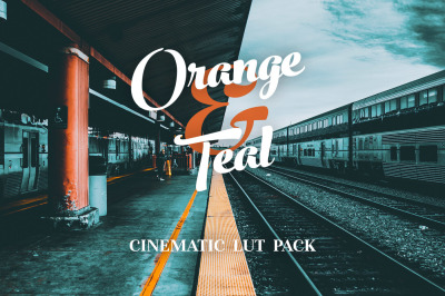 Orange & Teal - Cinematic LUTs pack