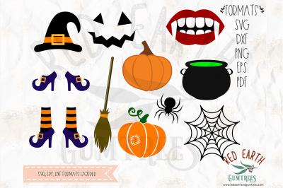 Halloween bundle SVG, PNG, EPS, DXF, PDF formats