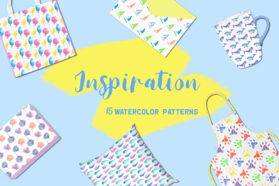 Inspiration. Collection of patterns.