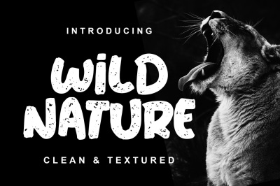 Wild Nature - 2 Font Styles