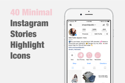40 Instagram Stories Highlight Icons
