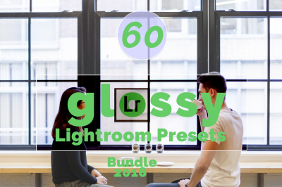 60 Glossy Lightroom Presets (90% Discount for Christmas)