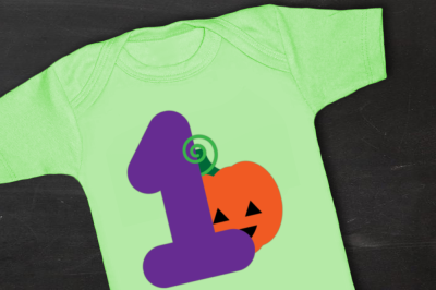 First Halloween Pumpkin | SVG | PNG | DXF