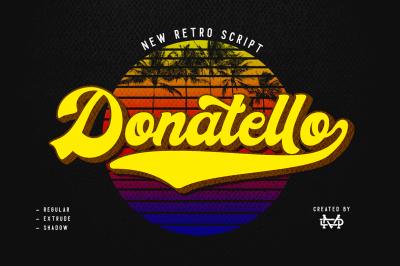 Donatello - new retro script