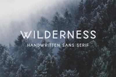 Wilderness | Handwritten Sans Serif