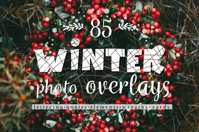 Winter and Christmas overlays