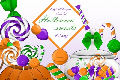 Halloween candy candy
