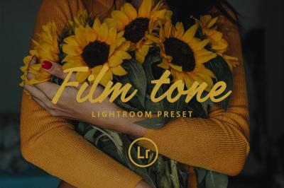 Film tone Lightroom preset