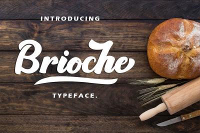 Brioche - Bold Typeface