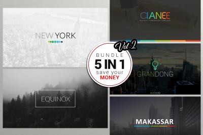 5 In 1 Powerpoint Bundle Vol 2