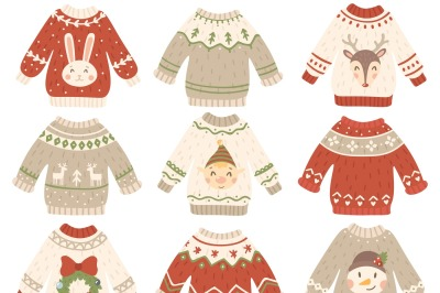 Christmas Watercolor Set Patterns By Space Of Worldion
