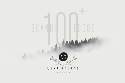 Scandinavian Premade Logo Template