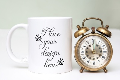 White coffee cup mock up noon midnight mug mockups photo mockup