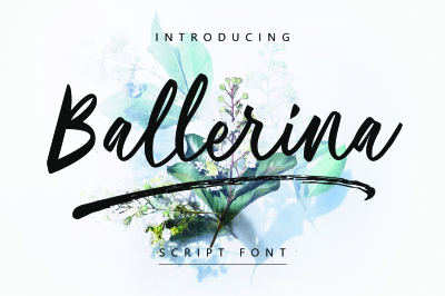 Ballerina | Script Font