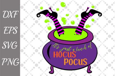 Hocus Pocus Svg, WITCH CAULDRON SVG, Halloween Svg,Vector Cut Files