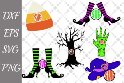 Halloween Monogram Svg,HALLOWEEN BUNDLE, Halloween Svg