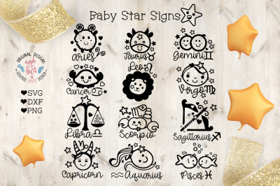 Baby Star Signs Horoscope Bundle