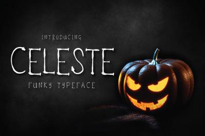 Celeste - Funky Typeface