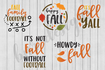 Fall SVG Bundle, SVG File, DXF File, SVG Bundle