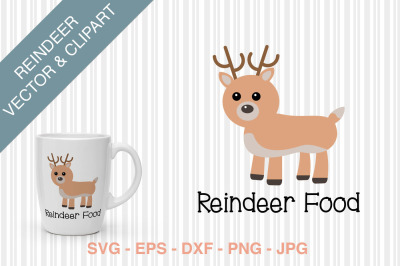 Reindeer food SVG