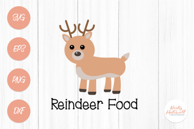Reindeer food SVG cutting file