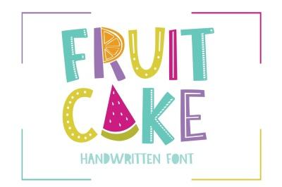 Fruit Cake Font
