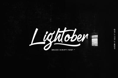 Lightober font