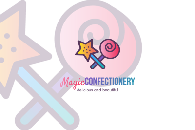 Magic Confectionery  Logo Template