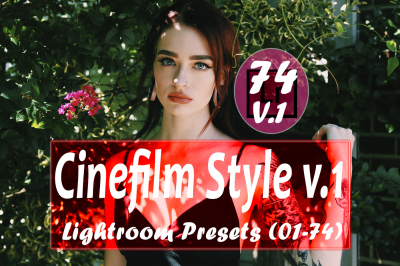74 Cinefilm Style v.1 Lightroom Presets