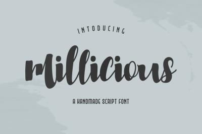 Millicious Script Font