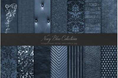 Navy Blue Textures