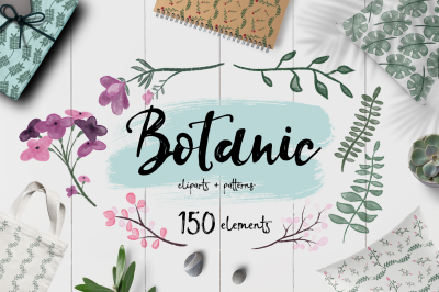 Botanic BUNDLE + 150 ELEMENTS
