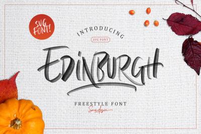Edinburg - SVG Font