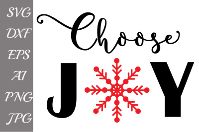 Choose Joy Svg, CHRISTMAS JOY SVG, Bible Verse Svg,Inspirational Svg