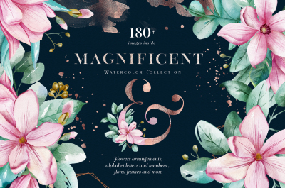 Magnificent. Watercolor Collection