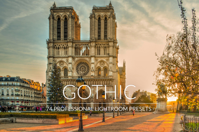 Gothic Lr Presets