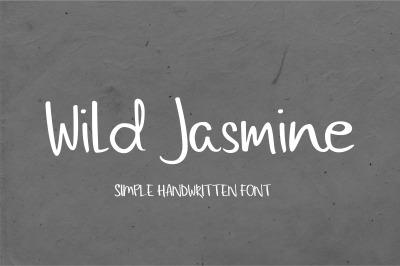 Wild Jasmine Handwritten Font