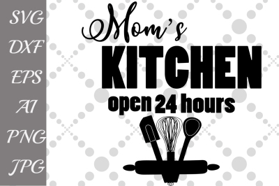 Moms Kitchen svg, KITCHEN SVG, Kitchen silhouette,T-Shirt Svg