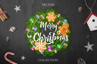 Merry Christmas - Vector Collection