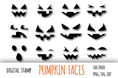 Pumpkin face svg. Jack o lantern